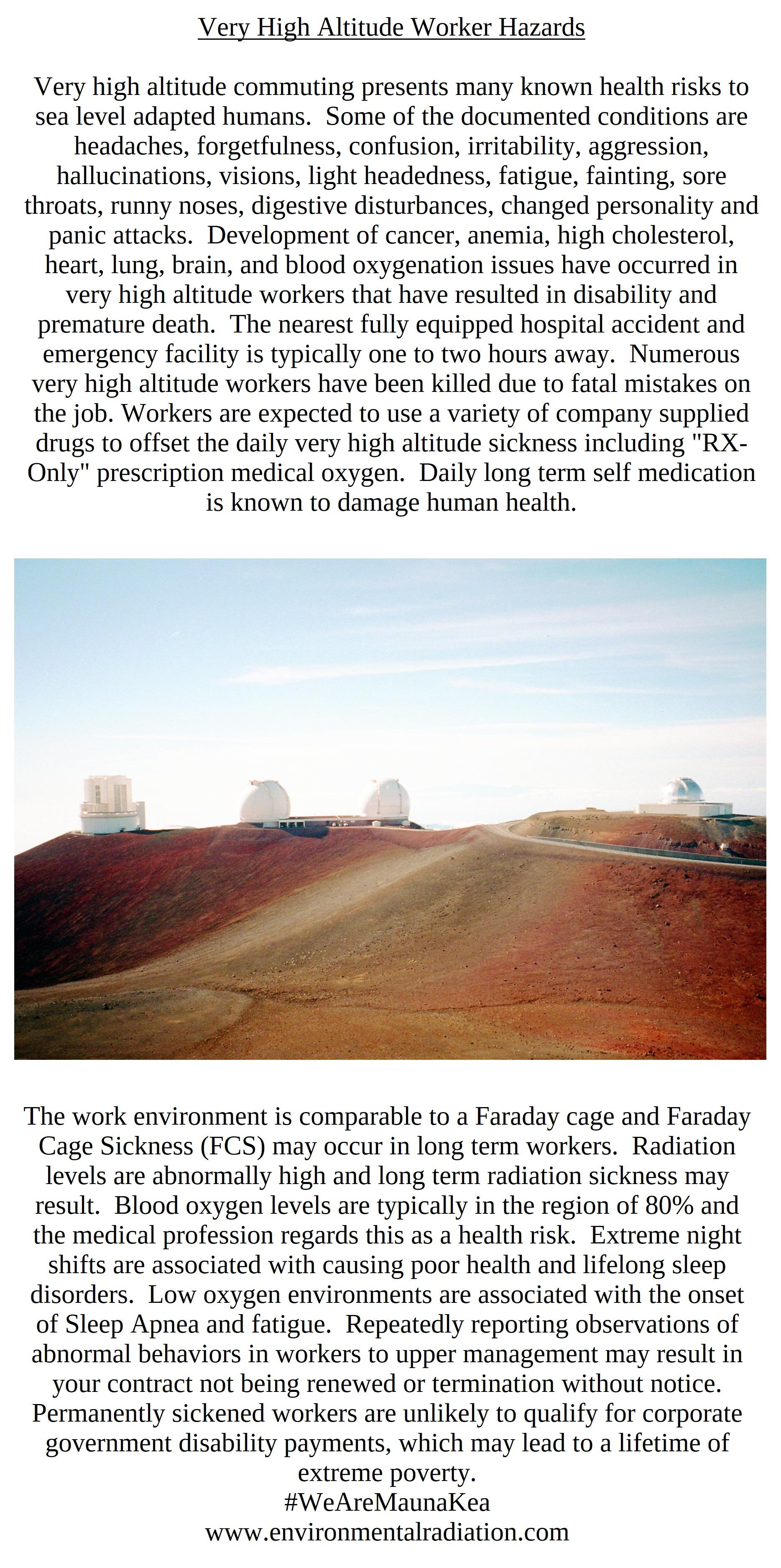 Environmental Radiation Llc For 1994 Geo Tracker Fuse Box Very High Altitude Hazards